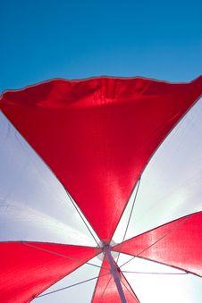Free Beach Umbrella Royalty Free Stock Photo - 4770425