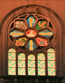 Free Church Window Royalty Free Stock Image - 4770836