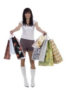 Free Shoppers Woman Stock Photos - 4770863