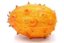 Kiwano Or African Horned Melon Royalty Free Stock Photos