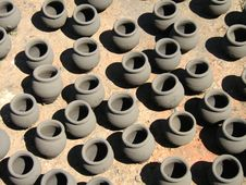 Free Earthen Pots Stock Images - 4771554