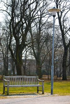 Free Park Bench Royalty Free Stock Images - 4771689