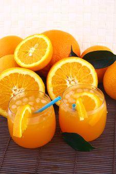 Free Orange Juice Royalty Free Stock Photos - 4772148