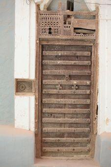 Free Ornamented Door Stock Photography - 4772712