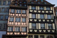 Half Timbered Strasbourg Stock Photos