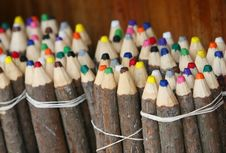 Free Natural Colored Pencils Stock Images - 4773234