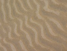 Free Ripples In Sand Royalty Free Stock Photos - 4773288
