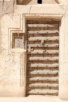 Free Ornamented Door Royalty Free Stock Image - 4773336