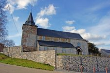 Free St:Geneviéve Church In Modave Royalty Free Stock Photo - 4773465