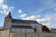 Free St:Geneviéve Church In Modave Royalty Free Stock Photo - 4773475