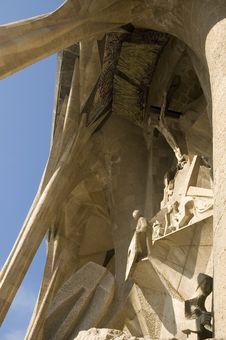 Free Details Of Sagrada Familia In Barcelona Stock Photo - 4774080