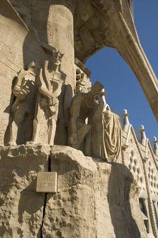 Free Details Of Sagrada Familia In Barcelona Stock Photos - 4774123