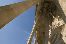 Free Details Of Sagrada Familia In Barcelona Royalty Free Stock Photos - 4774138