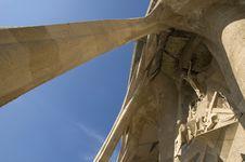 Free Details Of Sagrada Familia In Barcelona Royalty Free Stock Image - 4774216