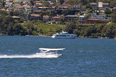 Free Airplane Landing On Water Stock Photos - 4774633