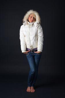 Free Winter Woman Stock Photography - 4775032