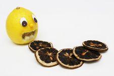 Lemon Scared Stock Images