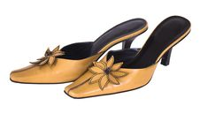 Free Tan Ladies Shoes,isolated Stock Photos - 4775623