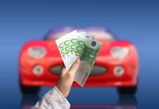 Free New Car Owner Concept Stock Photo - 4776990