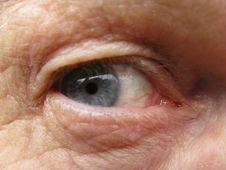 Free Senior Males Eye Royalty Free Stock Photo - 4777055