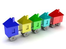 Free The House Of Your Dream On Wheels Stock Photos - 4777133