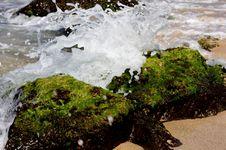 Free Splash On Rocks Stock Images - 4777364