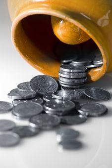 Free Pot Of Money. Stock Photos - 4777423