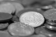 Free Euro Coins Stock Photography - 4777452