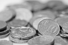 Free Euro Coins. Stock Photography - 4777482