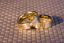 Free Golden Rings Stock Photos - 4777523