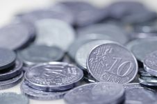 Free Euro Coins. Stock Images - 4777524