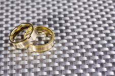 Free Golden Rings Stock Image - 4777531