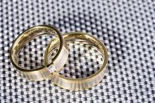 Free Golden Rings Stock Image - 4777541