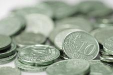 Free Euro Coins. Stock Photos - 4777543