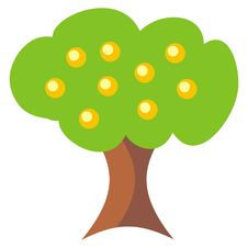 Free Fruitful Tree Royalty Free Stock Images - 4778369
