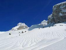 Free Winter Mountains Royalty Free Stock Photo - 4779045