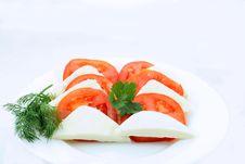 Free Tomato And Cheese Royalty Free Stock Photos - 4779298