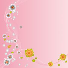 Free Floral Background (vector) Royalty Free Stock Images - 4779829