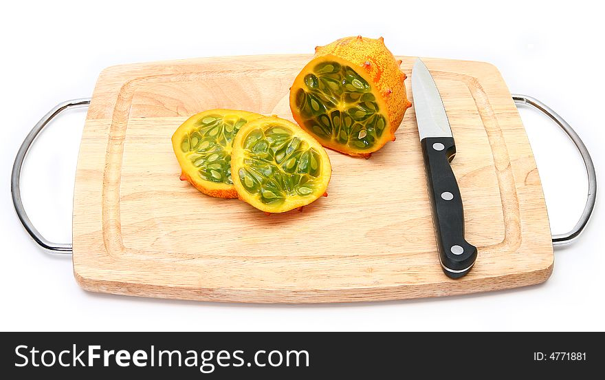 Kiwano or African horned melon