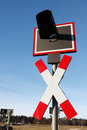 Free Railroad Crossing Sign Royalty Free Stock Photo - 4789505