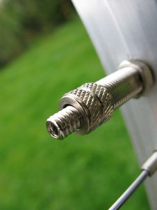 Free Air Pressure Valve Stock Photo - 4780120