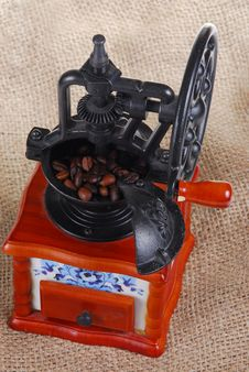 Free Coffee Grinder Royalty Free Stock Photography - 4780387
