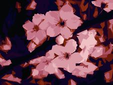 Free Vector Flowers Stock Image - 4780581