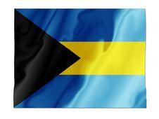 Free Bahamas Fluttering Royalty Free Stock Image - 4780796