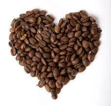 Free Coffee Heart Stock Photos - 4781293