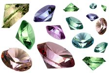 Free Glass Crystals Royalty Free Stock Photos - 4781738