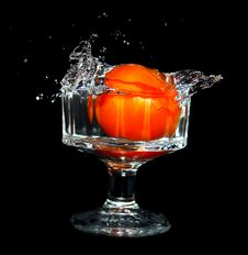 Free Tomato Splash Royalty Free Stock Photo - 4781815