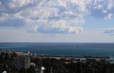 View Of Blue Sea And Sky Stock Photos