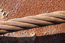 Free Rusty Steel Rope Stock Images - 4782044