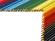 Free Colored Pencils Royalty Free Stock Image - 4782136